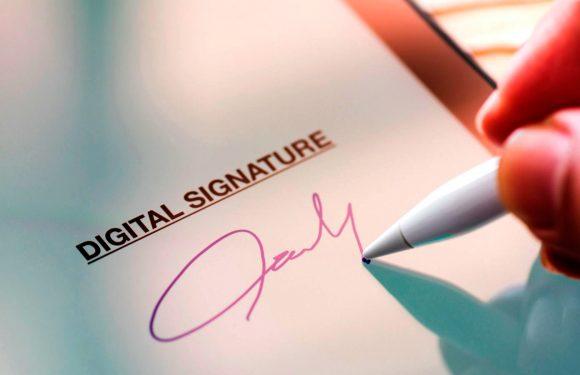 Bitcoin цифровий підпис